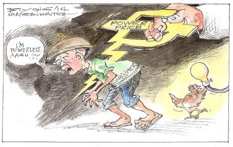 northernwatch editorial cartoon 2-2-14