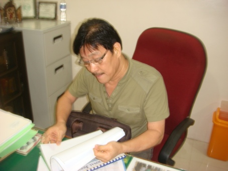 Division Manager Renato T. Millan of the Pangasinan Irrigation Management Office .