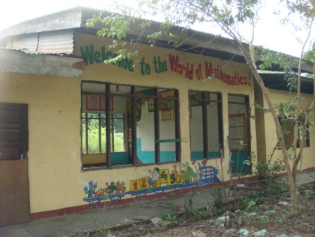LEFT TO ELEMENTS AND THIEVES. The pathetic sight of one of the rooms of the Central School in Bayambang  that was left to the elements and thieves who took many of the doors, ceilings, black boards and iron grills. Filipina Alcantara, the Parents –Teachers Association president, said  school principal Danilo Lopez and Bayambang Mayor Ricardo Camacho did not post  guards to safeguard the school properties.