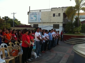 """AIDS CANDLE LIGHT MEMORIAL.  Sex workers and government officials in Urdaneta City, Pangasinan join the International AIDS Candlelight Memorial, an international event which is commemorated every 3rd Week of May every year.  The guest of honor was Mayor Amadeo Gregorio """"Bobom"""" Perez IV while the speakers were Regional Health Director Myrna Cabotaje, City Health Officer  Bernardo Macaraeg , and a male victim of the Acquired Immune Deficiency Syndrome (AIDS).The celebration was an event of solidarity together with the international communities, organizations, governments and civil societies. It was not only a commemoration of death of AIDS victims, but a venue for the community, the government and the different organizations to come together and make a stand against the spread of  the human immunodeficiency virus (HIV) and AIDS, stigma and discrimination. MORTZ C. ORTIGOZA"""